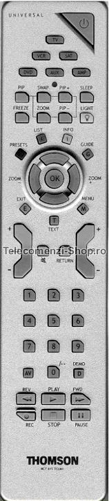 Telecomanda Thomson, LCD, RCT615TCLM1, TV, model 27LB220B4, cod 702