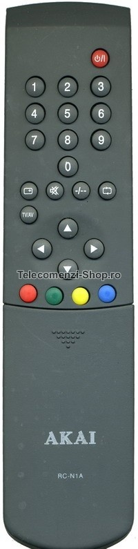 Telecomanda Akai, RCN1A, Inlocuitor, cod 975, Replacement for Akai