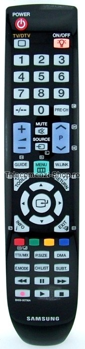 Telecomanda LCD, BN59-00706A, Samsung, TV, DEC878, cod 1021, model LE32A659