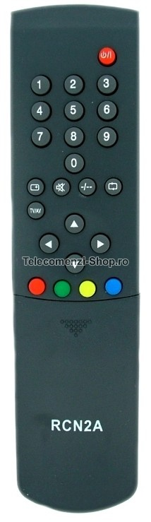 Telecomanda RCN2A, TV AKAI, model CT20WKD, RC-N2A, cod 40
