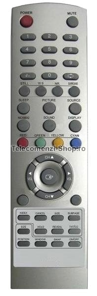 Telecomanda Manta, LCD2701, LCD, Replacement, cod 1177
