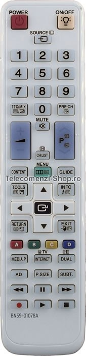 Telecomanda BN59-01078A, Samsung LED, LCD TV, model UE32C6700US, cod 1768