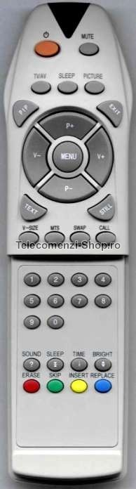 Telecomanda WOV-300 TE01, World of Vision, LCD TV
